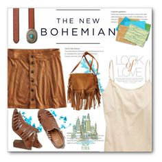 """The New Bohemian with American Eagle Outfitters: Contest Entry"" by hevsyblue2 ❤ liked on Polyvore featuring American Eagle Outfitters, Aerie, BC, Vince and Magma"
