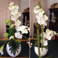 Orchideen aus seidenblumen von seideko