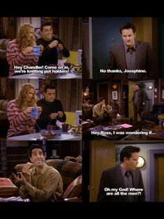 Chandler...a real man