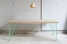 DIYers kunnen hun hart ophalen op HomeMade Modern, een design website met eenvoudige knutselrecepten voor een modern gezellig interieur.
