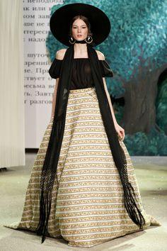 Pictures from Vogue : Ulyana Sergeenko, Collection Haute Couture Printemps Eté 2013 #SS13 #PFW