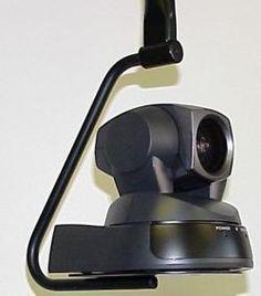 Black Ceiling Mount for PTZ Cameras:  EVI-D100, EVI-D100P, VC-C50I
