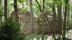 Enjoy the fresh spring air as you hike to these ruins in Pennsylvania. Day Trips In Pa, Weekend Trips, Bike Trails, Hiking Trails, Places To Travel, Places To See, Camping In Pennsylvania, Hiking Essentials, Travel Light