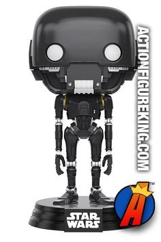 #STARWARS #RogueOne #K2SO Bobblehead #Figure. Easily search thousands of new and vintage #collectibles #Toys and #ActionFigures here… http://actionfigureking.com/list-3/funko-toys-collectibles-and-figures/funko-pop-star-wars-figures/funko-pop-star-wars-rogue-one-k-2so-figure-146