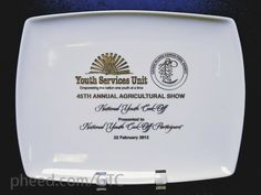 GTC (GTC) on Pheed  Color filled engraved ceramic plates make beautiful recognition gifts.
