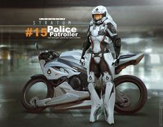 비슷 전산 ㅡ  Project Stratum - Police patroller by Bjorn Hurri