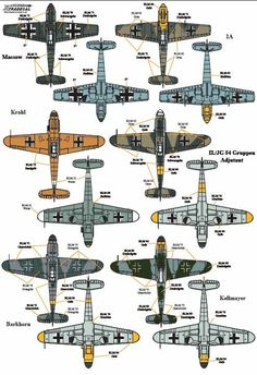 Ww2 Aircraft, Military Aircraft, Luftwaffe, Old Planes, Military Armor, Battle Of Britain, Aviation Art, Model Airplanes, Figs