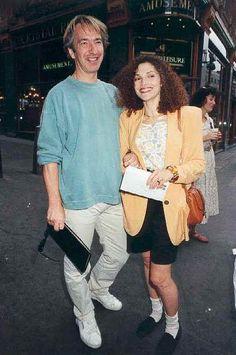 young Alan with Mary Elizabeth Mastrantonio