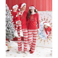 3129fa2afc Family Matching New Christmas Pajamas Set Women Men Kid Deer Sleepwear  Nightwear  Unbranded  PajamaSet