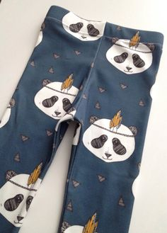 panda+bear+organic+cotton+knit+leggings Little Acorns, Knit Leggings, Panda Bear, Organic Cotton, Knitting, Trending Outfits, Clothes, Etsy, Outfits