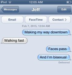 This little tune: | 15 Coming Out Text Messages That Will Give You Life