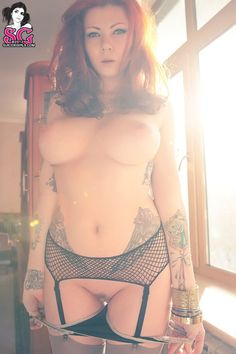 "redsaysdanger: ""ensellure: "" Nice "" anyone know which Suicide Girl this is? "" Holy crap suicide?"