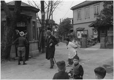 「Hongo-Morikawacho(1952)」 Ihei Kimura(1901 - 1974) was one of the most celebrated Japanese photographers of the 20th century