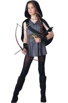 Hooded Huntress Tween Costume #Halloween #costumes
