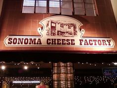 Sonoma Cheese Factory Great for Picnic food for the park