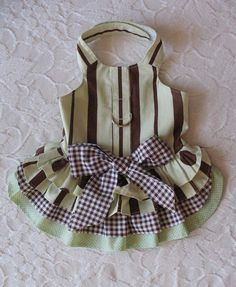 Little Dog Harness Dress Small by chloesheart on Etsy, $20.00