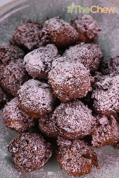 Fruit Cake Fritters by Mario Batali - change up your fruit cake-eating ways with this fried fritter version!