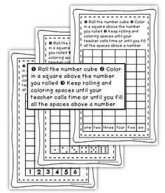Math Coach's Corner: Roll and Graph Freebie