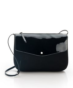 Take a look at this Black Dive Crossbody Bag by ShoeMint on #zulily today!