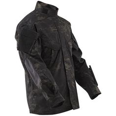 TRU-SPEC Tactical Response Uniform (TRU) Xtreme Shirt - Multicam® Black