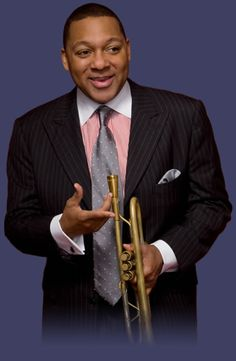 Wynton Marsalis...My fiance went to high school with him at Benjamin Franklin High in New Orleans... pinned by Pam Sloop