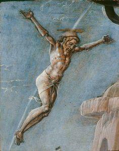 Cosmè Tura - Cristo crocifisso - 1474 circa - Milano, Pinacoteca di Brera