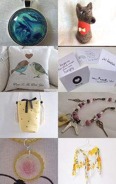 Eclectic again! by Aneta Vaitkiene on Etsy--Pinned with TreasuryPin.com
