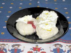 Ovocné Knedlíky Strawberry Version If you ask any adult Czech living abroad what childhood foods they miss the most, the Fruit Dumplings w. Dumpling Recipe, Dumplings, Vegetarian Recipes, Cooking Recipes, Cheese Fruit, Czech Recipes, Cottage Cheese, Cookie Desserts, I Foods