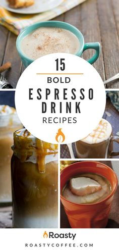 Check out our 15 bold espresso drink recipes to spice up your coffee routine. From flat whites to caramel lattes, we're making it easy for you to get that bold espresso drink in the comfort of your home. Does your new bio read Café Espresso, Espresso At Home, Home Espresso Machine, Espresso Martini, Espresso Drinks, Coffee Tasting, Coffee Drinkers, Iced Coffee, Coffee Shops
