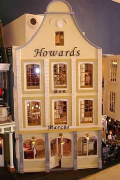 Connie Sauve - Miniature Show Photos (Howard's Bon Marche - interior pinned alongside) pic 1/2