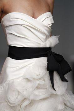 Black + White....confection!