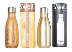 Style File: Holiday Gift Ideas and Inspiration | Photos by Amy Barnard http://sbseasons.com/TmiC6 S'Well Bottles, which are insulated to keep liquid warm or hot for 24 hours, from Plum Goods. #sbseasons #sb #santabarbara #SBSeasonsMagazine #SBStyle #GiftGuide #SBShopping To subscribe visit sbseasons.com/subscribe.html