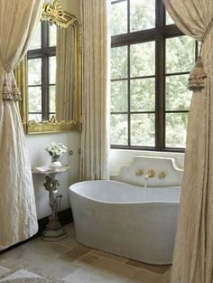 french Bathroom Decor French Country Bathroom Decor Design Ideas, Pictures, Remodel, and Decor - page 37 Bad Inspiration, Bathroom Inspiration, French Decor, French Country Decorating, Rustic French, French Oak, Country Style Bathrooms, Country Kitchens, French Bathroom
