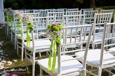 foto matrimonio rito civile villa valentina - allestimento all'aperto