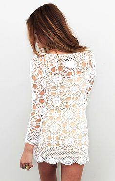 Wildflower Dress in Ivory  pinning is winning