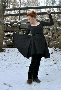 mallikelpoinen: klänning