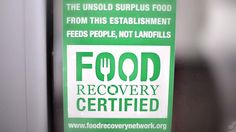 New certification tells you which restaurants give extra food to those in need. A national network of college students taking cafeteria leftovers to homeless people. The network's saved more than 320,000 pounds of food from the dump in its first three years.