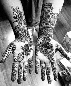 Joy of Henna - Anitas bridal henna by Joy of Henna, via Flickr