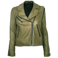 Bowery Moss Leather Jacket  By Rag & Bone