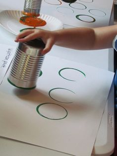 "The things we ""can"" do in preschool...once each circle dries, the children can draw or color, cut and paste things that are fun and good to do in preschool. gives children a sense of what to expect such as snack time, story time, morning meeting, CT, outdoor play, nap time and more"