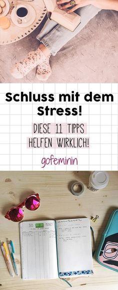 Schluss mit dem Trubel! Diese 11 Tipps helfen WIRKLICH gegen Stress im Alltag!