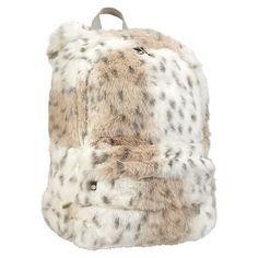 Fur Snow Leopard Backpack #pbteen