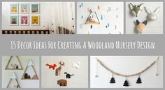 15 Ideas For Creating A Woodland Nursery Design
