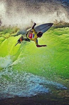 Surf surfer surfing wave barrel sea beach... #learnsurfing