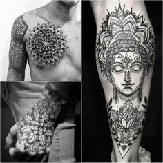 Lotus Tattoos for Men - Lotus Tattoo Meaning - Lotus Tattoo Ideas - Lotus Tattoo Designs Lotus Tattoo Design, Lotus Tattoo Men, Buddha Lotus Tattoo, Lotus Tattoo Meaning, Small Lotus Tattoo, Buddha Tattoo Design, Lotus Mandala Tattoo, Buddha Tattoos, Tattoos With Meaning
