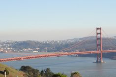 Golden Gate Bridge from Mt. Tam