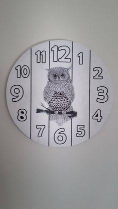 Duvar Saati / Ağaç dilimleri / Wooden wall clock