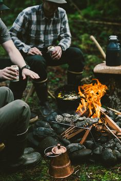 A sportsman's supper is better cooked over campfire. #FilsonLife