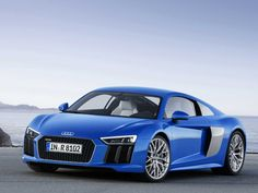 2016 Audi R8 e-tron  Set to debut at the 2015 Geneva Motor Show, the second-generation R8 will come in an electric version.   Read more: http://www.businessinsider.com/audi-r8-e-tron-has-tesla-model-s-performance-2015-3#ixzz3TFbfF8je