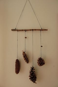 These simple, modern pinecone décor ideas are a great way to inject natural and raw elements by adding charm and character in the home.